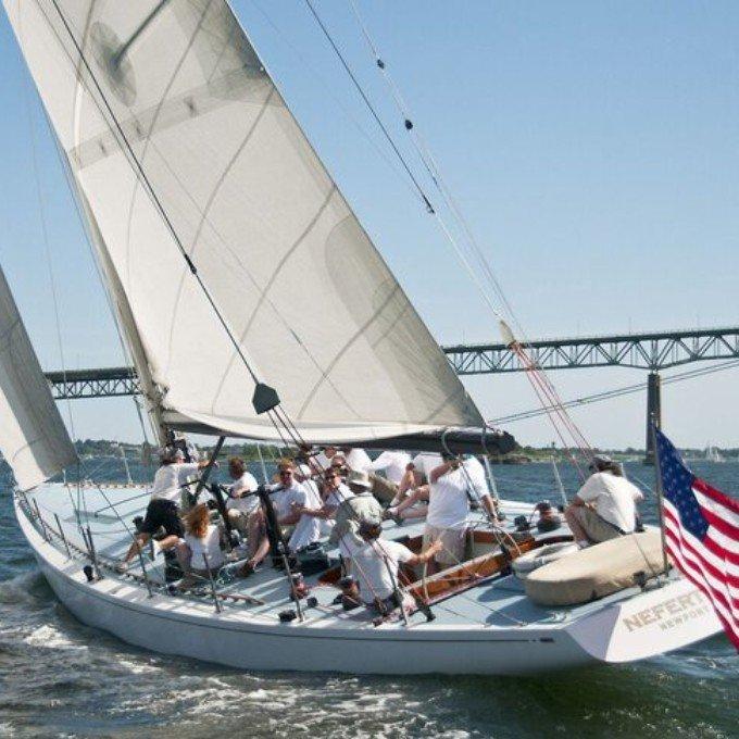 Newport Harbor America's Cup Racing