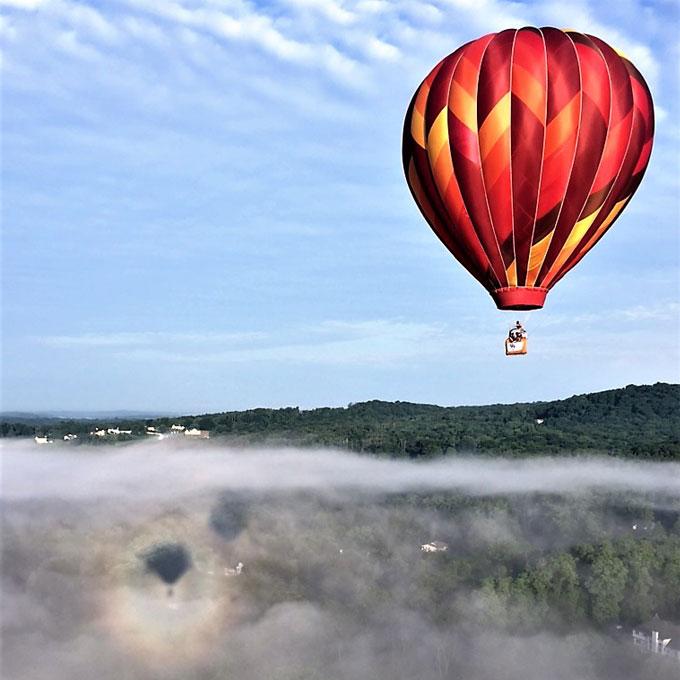 Hudson New York Balloon Ride