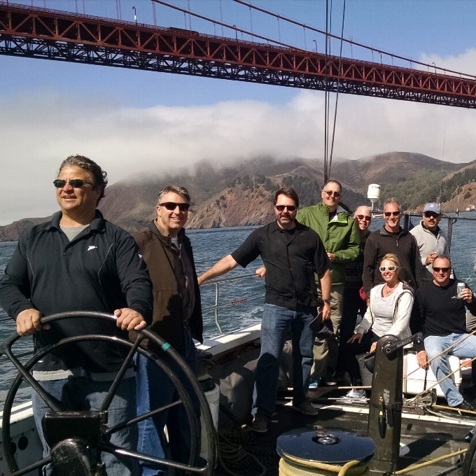 San Francisco Bay Americas Cup Sail