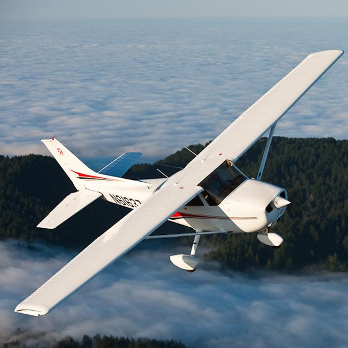 Fly a Plane over Big Sur near San Francisco