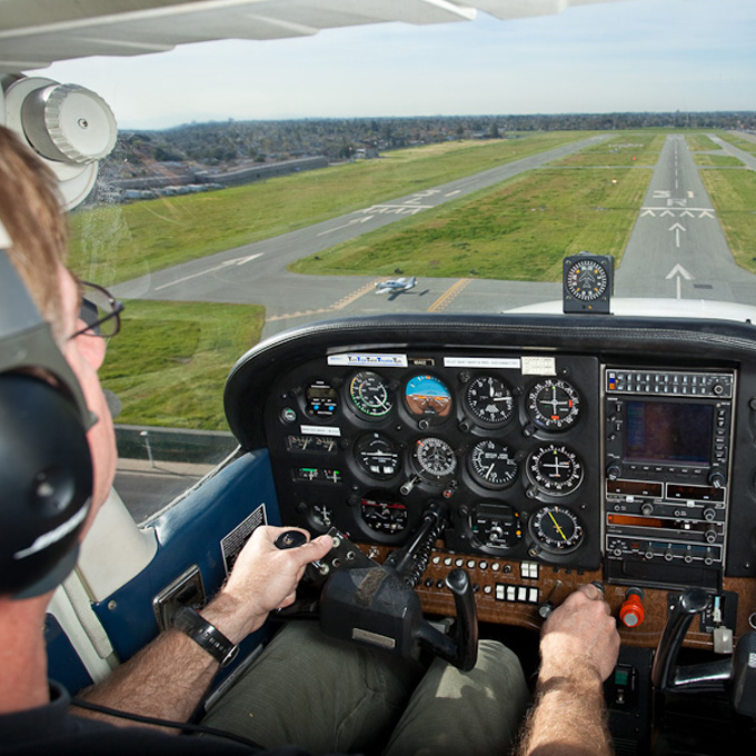 Flying Lesson over Big Sur