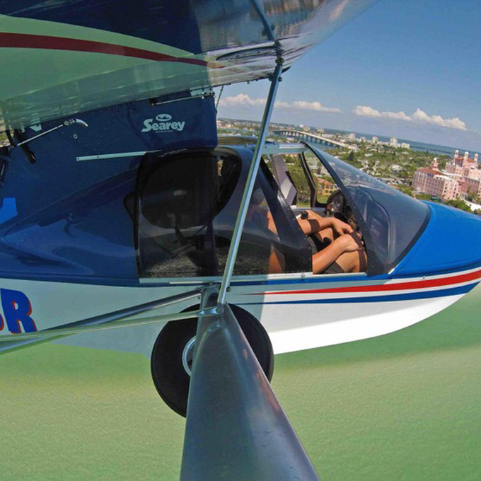 Fly a Seaplane from St. Petersburg