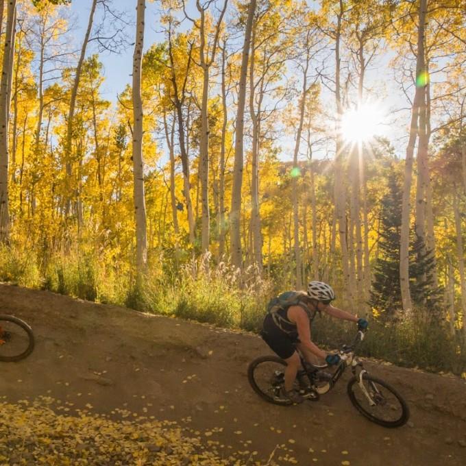 Mountain Biking in Park City, UT