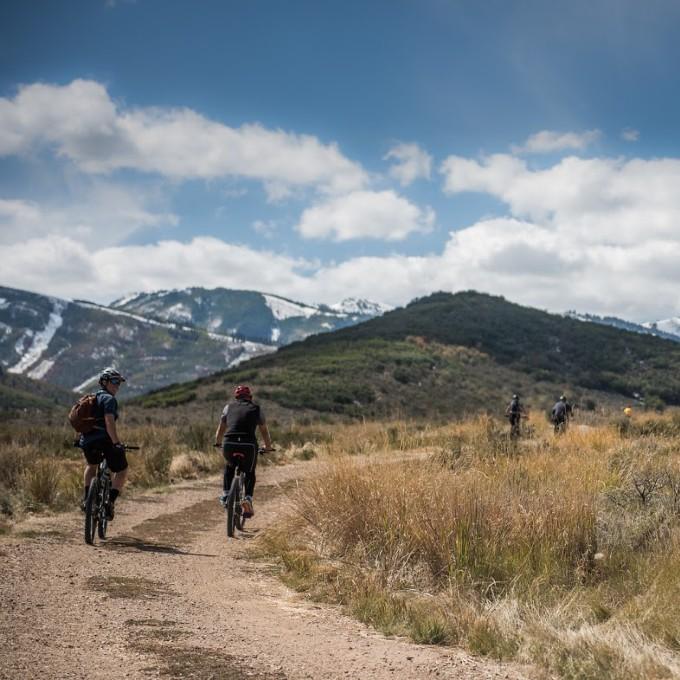 Mountain Biking Singletrack Ride in Salt Lake City