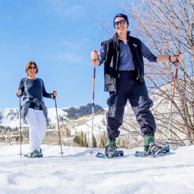 Snowshoeing Tour in Park City Utah