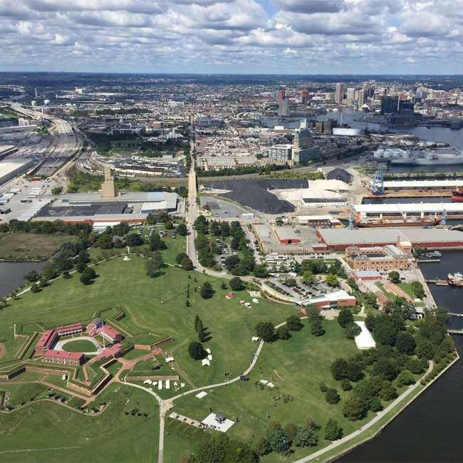 Helicopter Tour near Annapolis and Baltimore