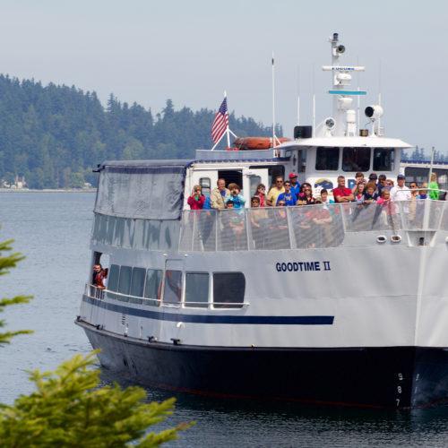 Seattle Cruise to Blake Island State Park
