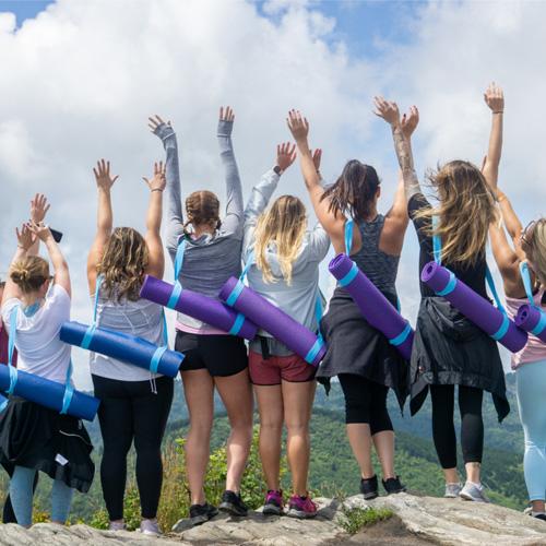 Yoga on the Mountain Hike