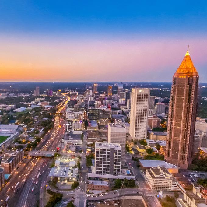 Downtown Atlanta Helicopter Tour