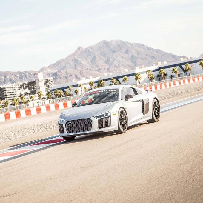 Drive an Audi R8 in Las Vegas