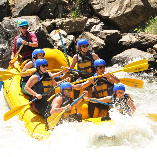 Half Day Rafting Rocky Mountains