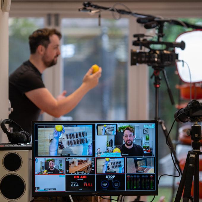 Behind the Scenes Virtual Baking