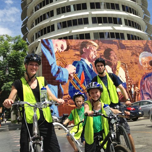 Bike Tour in Hollywood Los Angeles