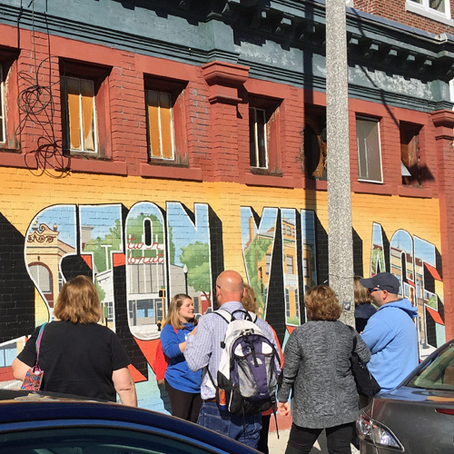 Guided Walking Food and Public Art Tour in Boston