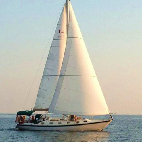 Sunset Chesapeake Bay Sailing Cruise