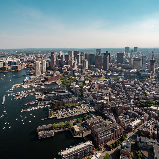 City of Boston Helicopter Tour