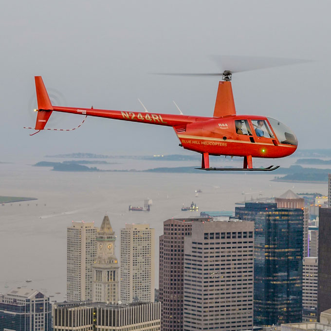 Helicopter Tour over Boston