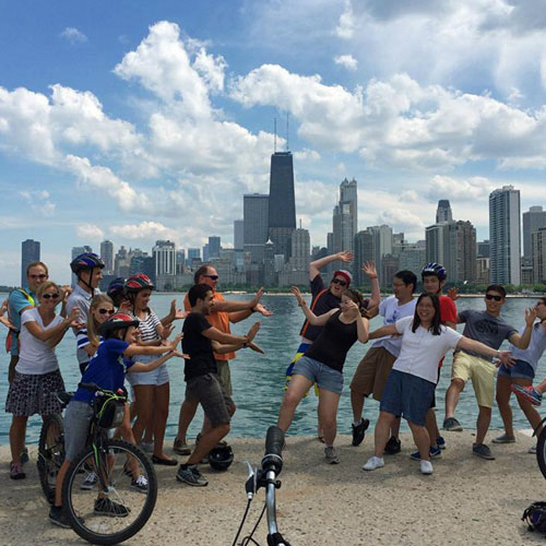 Bike Tour of Chicago Lakefront