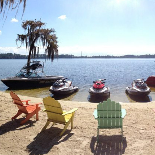 Lake Bryan near Orlando