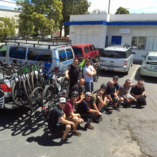 Group Mountain Bike Tour