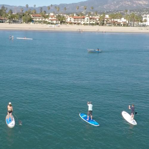 Stand Up Paddleboarding Santa Barbara