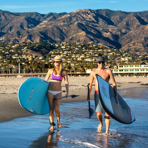 Paddleboarding Lesson Southern California