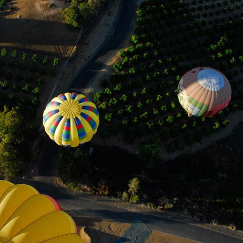 Sunrise Balloon Ride in San Diego