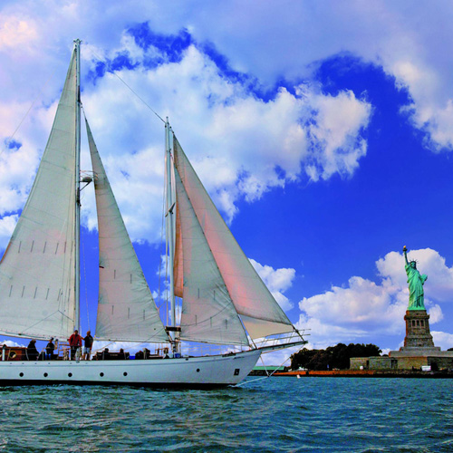 Champagne Brunch Sail and Statue of Liberty