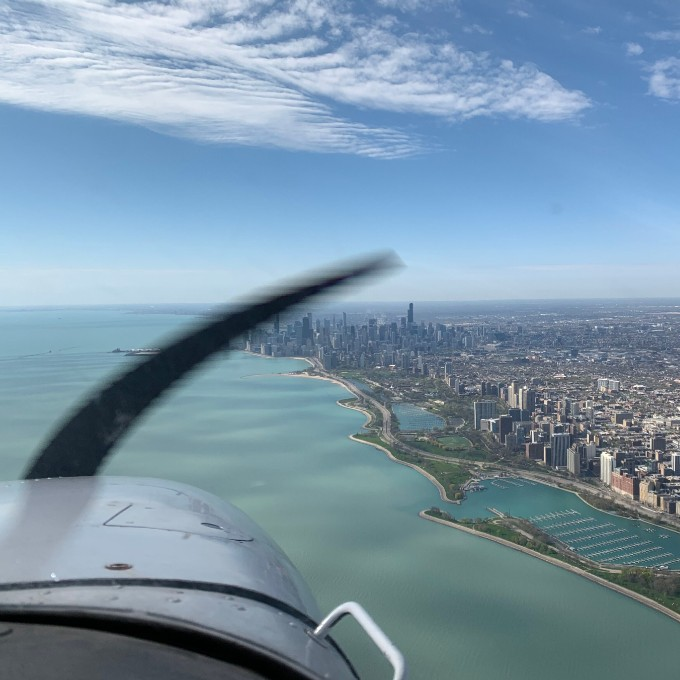 Learn To Fly in a Cessna 172 near Chicago
