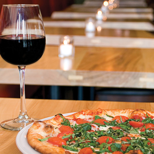 Wine with Pizza on a Tour