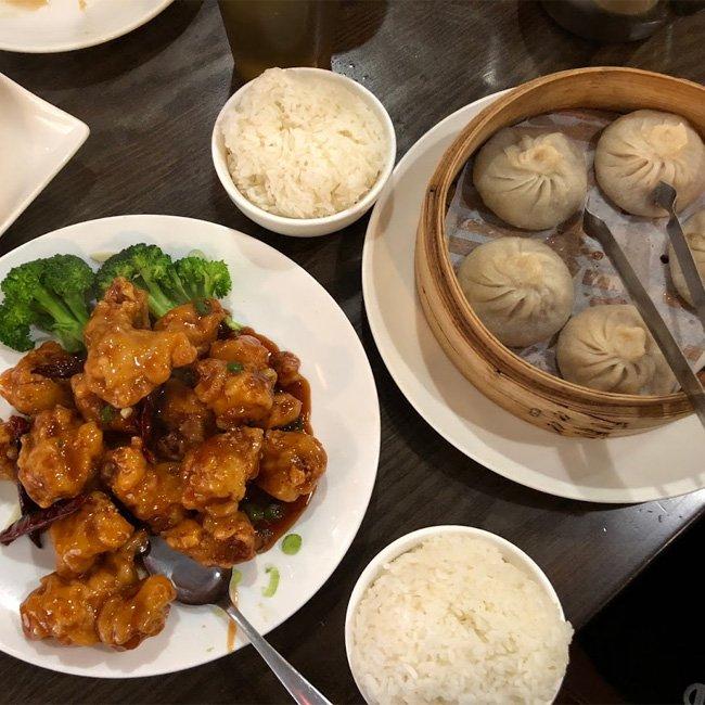 Food during Boston Chinatown Tour