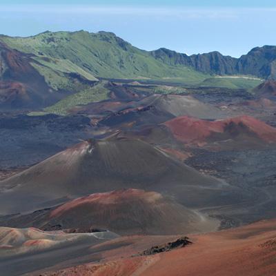 Cinder Condes on Haleakala