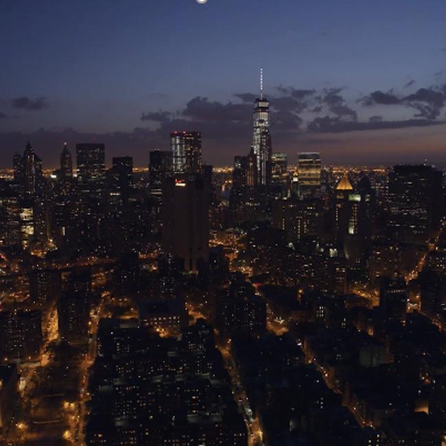 New York City Skyline during Helicopter Tour