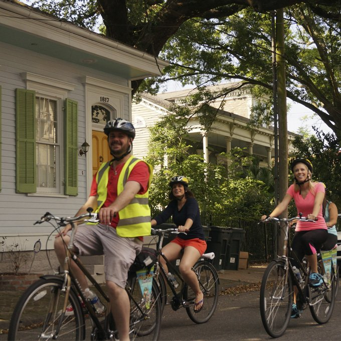 Bike Tour in New Orleans