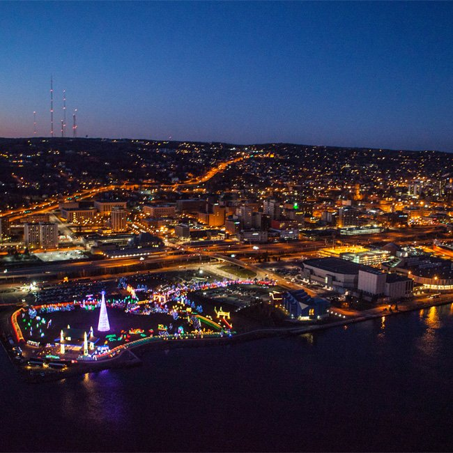 New Orleans City Light Helicopter Tour
