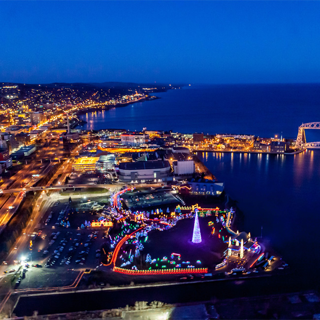 Helicopter Tour through New Orleans City Lights