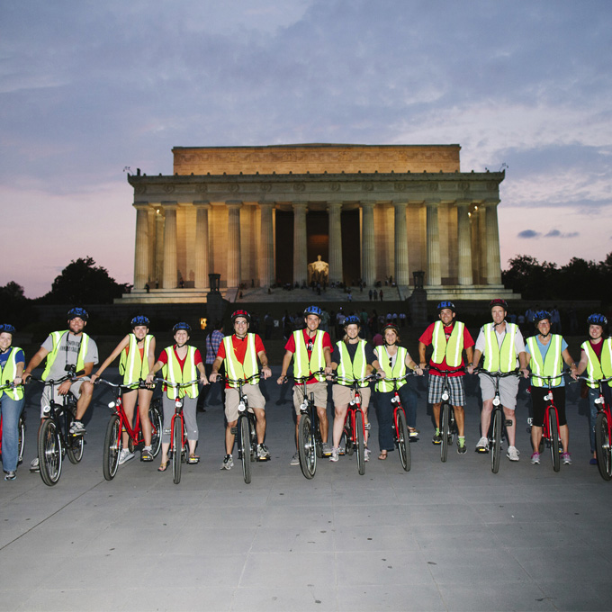 Evening Bike Tour or DC Monuments