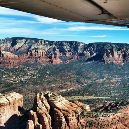 Scenic Views from Learn to Fly near Phoenix