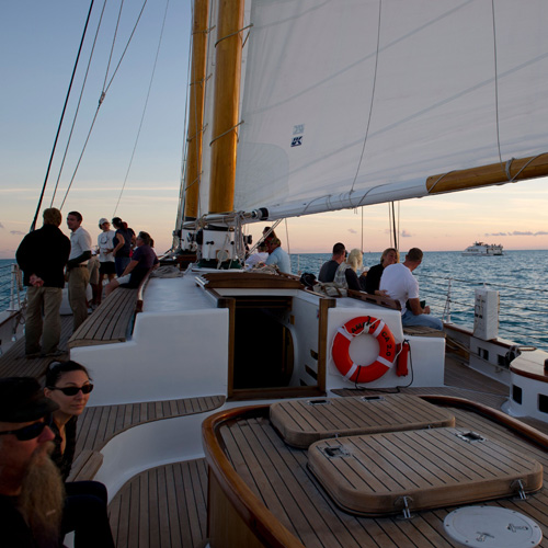 Champagne and Sunset Sail Key West