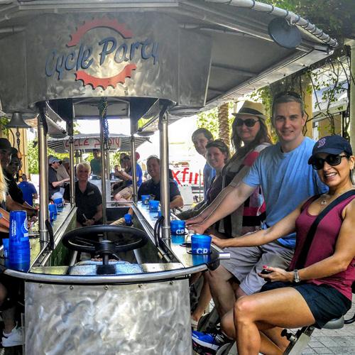 Miami Cycle Party Bike Tour