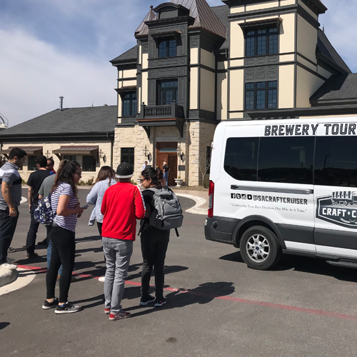 Guided Craft Brewery Tour