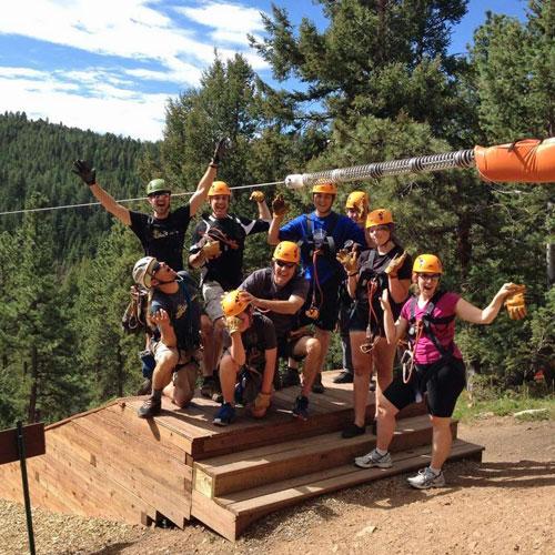 Rocky Mountain Zipline Adventure