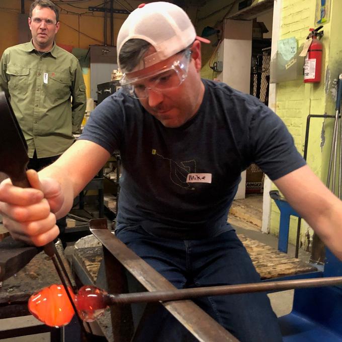 Glass Working Class in Boston