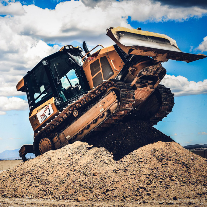 Drive a Bulldozer in Las Vegas