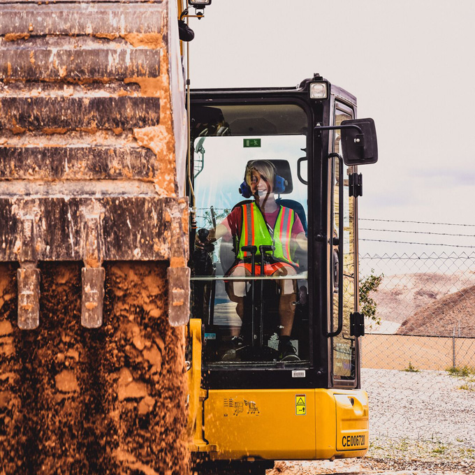 Play with Heavy Machinery in Las Vegas
