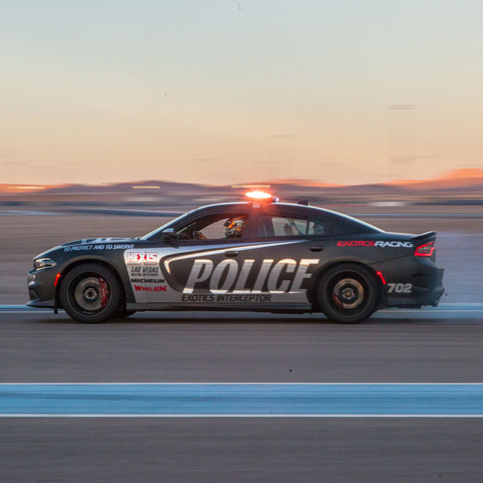Exotic Car Thrill Ride in Vegas