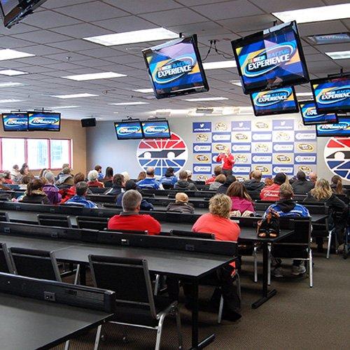 NASCAR experience classroom