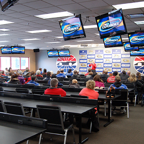 Classroom Session for NASCAR experience