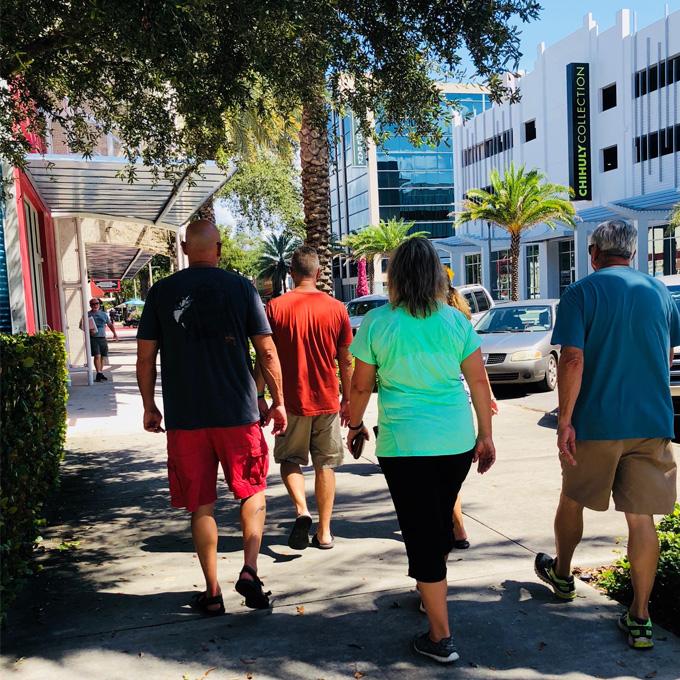 Walking Food Tour near Tampa