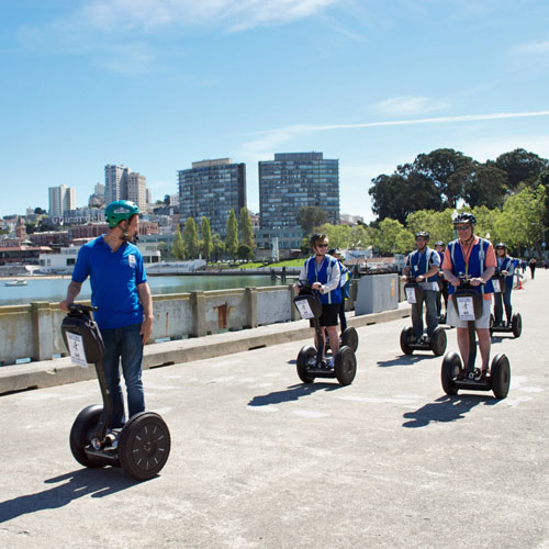 Wharf and Waterfront Segway Tour in San Fancisco